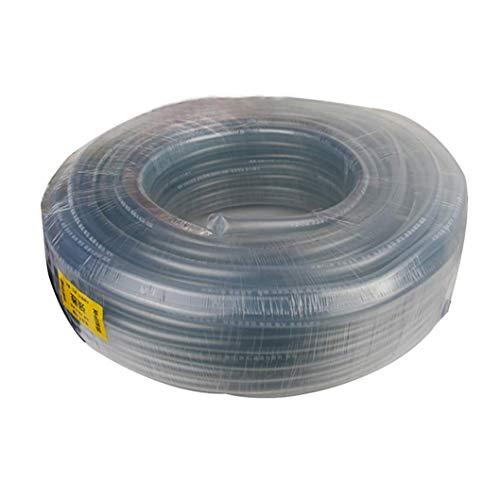 ZTMN tuinslang, 15mm transparant antivriesrundvlees kuip, geschikt voor familie water geven en auto wassen (Maat: 30m(98.4ft))