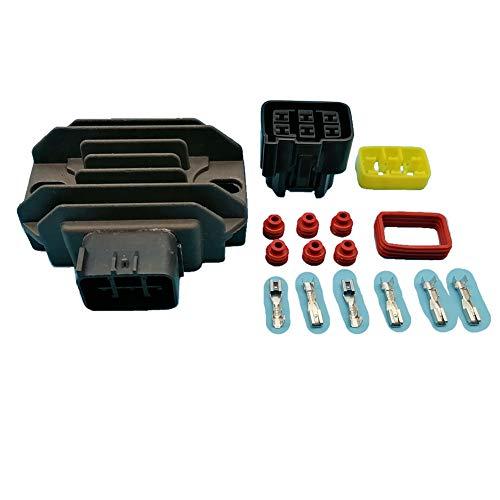 Tuzliufi Voltage Regulator Rectifier for DVX400 KFX400 KFX450R KX250F KX450F LTF250 LTZ250 LTZ400 KFX 200 250 400 450 F R LTF LTZ Z250 Z400 3409-027 21066-0042 21066-S004 21066-S011 32800-05F10 Z386