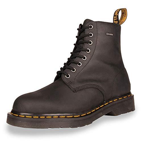 Dr. Martens Unisex Adults 1460 Republic Waterproof Winter Outdoor Boots - Black - 8.5