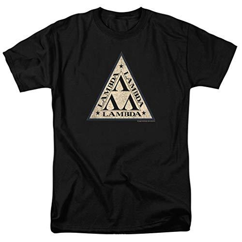 Revenge of The Nerds Tri-Lambda T Shirt & Stickers (XX-Large) Black