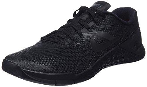Nike Men's Metcon 4 Black/White Ankle-High Cross Trainer Shoe - 11M