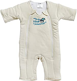 78983515088db Baby Merlin s Magic Sleepsuit Cotton - Cream - 3-6 months