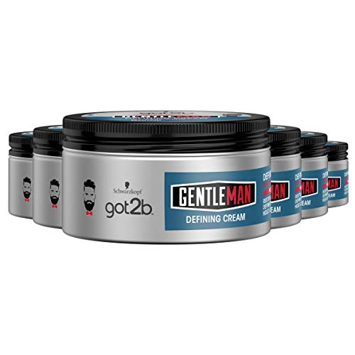 Schwarzkopf got2b Gentleman Defining Cream 100ml, 6 stuks