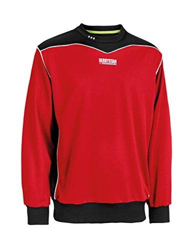 Derbystar Brillant–Sudadera para Hombre Rojo Rojo Talla:Large