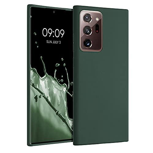kwmobile 対応: Samsung Galaxy Note 20 Ultra 専用ケース - 耐衝撃 TPUソフト シリコンケース スマホカバー 滑り止め - ケース