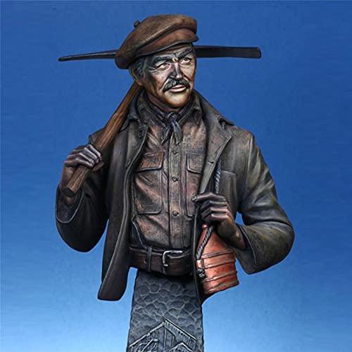 Perky Kits de Modelos de Resina 1/9, Mineros de carbón inmigrantes irlandeses Kits de Modelo de Busto de Resina, Figuras modelismo incoloras y automontadas