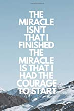 the miracle isn t that i finished