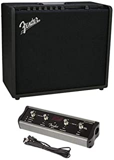 Fender Mustang GT 100 100W WiFi Digital Amplifier with 21 Amp Models, 46 Effects MGT-4 Mustang GT Footswitch