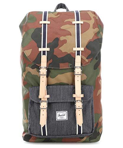 Herschel Little America Laptop-Rucksack, Camouflage (mehrfarbig) - 10014-02166-OS
