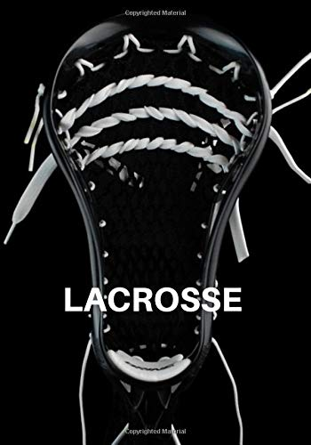 Lacrosse: Lacrosse Journal for journaling | Notebook for lacrosse lovers 122 pages 7x10 inches | Gift for men and woman girls and boys| sport | logbook