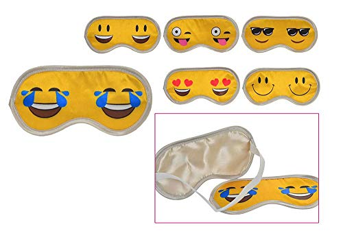 Rak Mark Antifaz para Dormir Divertido emojil Suave Comodo Original Ideal Regalo