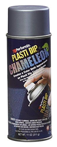 Plasti Dip 11256Folie Spray abnehmbar, Chamäleon türkis/silber