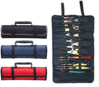 Draagbare Gereedschap Tas BE-TOOL 22 Zakken 600D Oxford Canvas Tool Roll Up Bag Grote Tote Carrier Organizer, Gemakkelijk ...