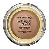 Max Factor Miracle Touch Foundation, fórmula nueva y mejorada, SPF 30 y...