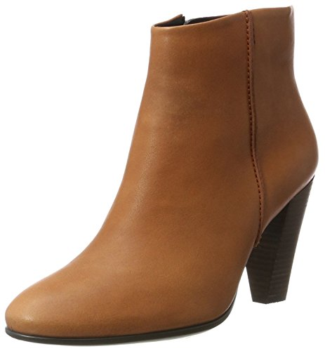 ECCO Women's Women's Shape 75 Bootie Ankle, Cognac, 36 EU / 5-5.5 US