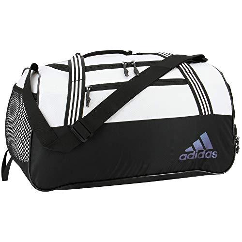 adidas Squad Duffel Bag, Bolsa de deporte Unisex Adulto, blanco/negro, Talla única