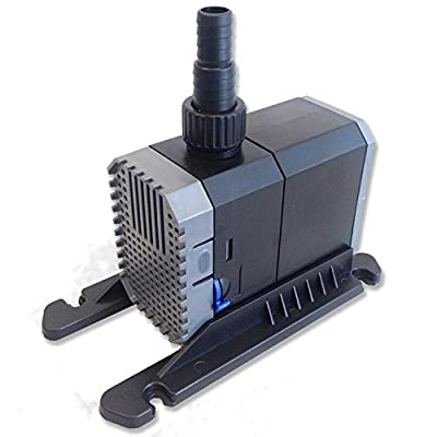 Aquarium Fish Tank Submersible Pump - / Sump / Pond / Water Feature - Adjustable Flow - Flow Rate up to 1500L/H