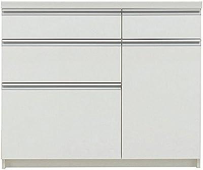 パモウナ 食器棚 幅100×高さ85×奥行45 日本製 WLA-S1000R下台