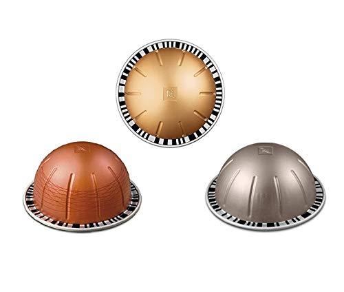 Brand New Nespresso Vertuo Balanced Selection Long Expiry Coffee Pods Capsules Arondio Melozio Hazelino 30 Pods 3 Sleeves