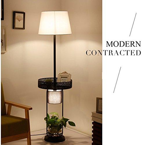 XIN Home staande lamp, staande lezing, creatieve staande lamp woonkamer bedlampje landelijke Scandinavische landelijke Amerikaanse huis tafellamp in Europese stijl verticale plank oogbescherming Ve