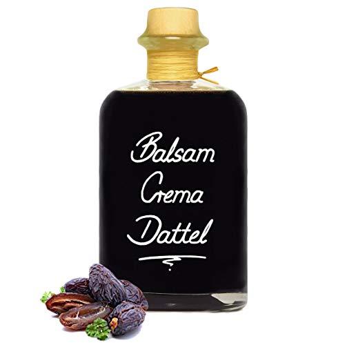 Balsamico Creme Dattel 0,5L 3% Säure Mit original Crema di Aceto Balsamico di Modena IGP.
