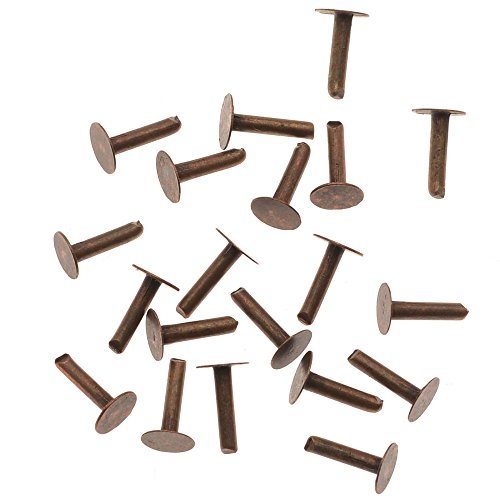 Vintaj 20 Pieces Artisan Copper 1/4' Nail Head Rivets