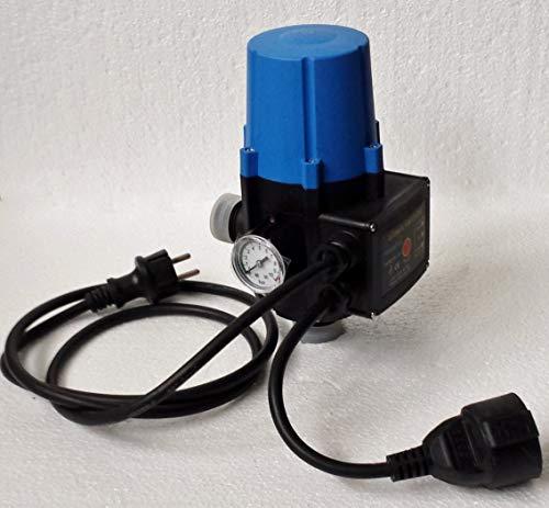 Pumpensteuerung mit BAR Anzeige megafixx PC13 - Trockenlaufschutz - verkabelt - bis 10 BAR - bis 10 Ah / 2200 Watt