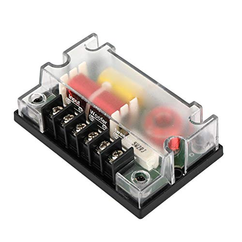 Car Audio frequentieverdeler, 2-wegs Car Audio frequentieverdeler luidspreker Sound Filter Auto Accessoires ABS + elektronische componenten