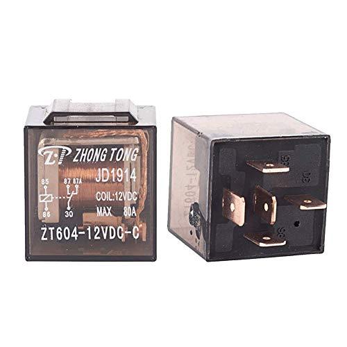 mintice ™ 12 V véhicule Car Kit relais voiture pour pompe électrique du carburant Fan lourde 80A 5Pin SPDT
