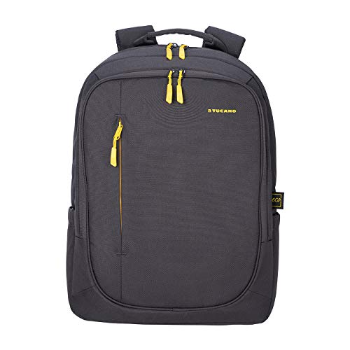Tucano - Zaino Porta Pc 17' Pollici, Compatibile con MacBook PRO 16. Backpack Bizip, Zaino Capiente da Ufficio e università, in Poliestere Riciclato