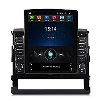 AndroidカーラジオGPSナビゲーション9.7インチタッチスクリーンBluetoothカーステレオWIFIFMラジオミラーリンクSWC for Toyota Land Cruiser 200,4core wifi: 1+16g