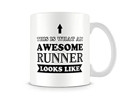 Sport Mug - Awesome Runner - Great Gift/Present Idea
