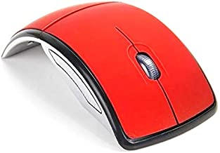 Mouse Wireless 2.4Ghz Sem Fio Dobrável + Pilhas + Chaveiro - 10cm