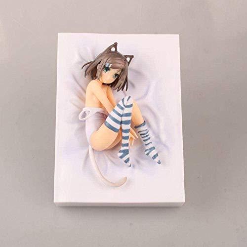 wxxsjfj Anime Statue Anime Figur Toys Erwachsene Hentai Prinz und die steinige Katze Tsukiko Tsutsukakushi Figuren Puppe