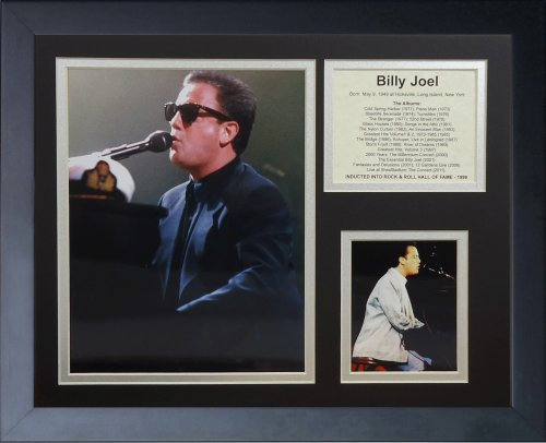 "Legends Never Die ""Billy Joel Framed Photo Collage, 11 x 14-Inch"