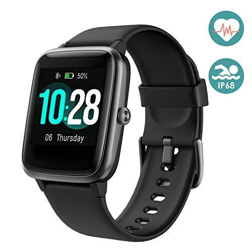 Arbily Smartwatch 【2020 Neuestes Modell】 Fitness Uhr Sportuhr für Damen Herren, Pulsuhren Sportuhren mit Schrittzähler Pulsmesser Wasserdicht IP68 zum Schwimmen für IOS Android