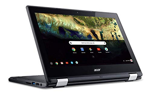 commercial Acer Chromebook R 11 Convertible Notebook, Celeron N3060, 11.6-inch HD Touch, 4 GB DDR3L, 32 GB eMMC,… touch screen chromebook