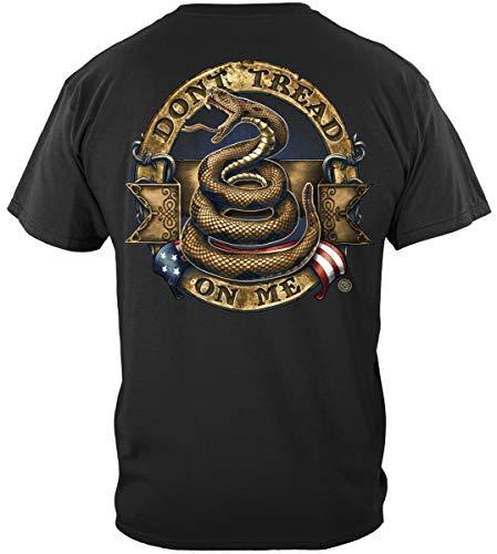 Second Amendment 9mm Ammo   Don't Tread On Me Stone Gold Shirt ADD201-RN2269S