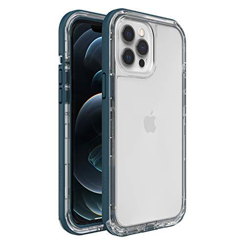 LifeProof Next funda a prueba de caídas y polvo para Apple iPhone 12 Pro Max transparente/azul