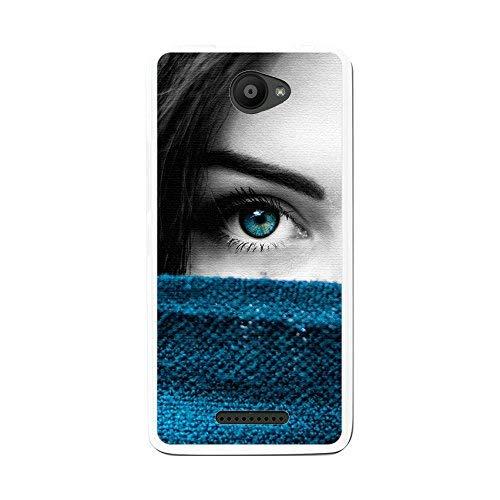 Tum&osmartphone Hülle Gel- TPU Hülle Für bq aquaris u/U Lite Design Muster - Auge