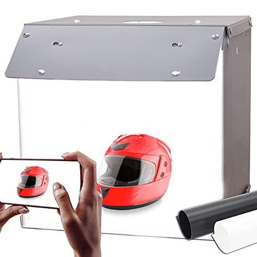 Orthland 40x40x40cm Caja de Luz Fotografía Caja de Estudio Fotográfico Portátil Plegable...