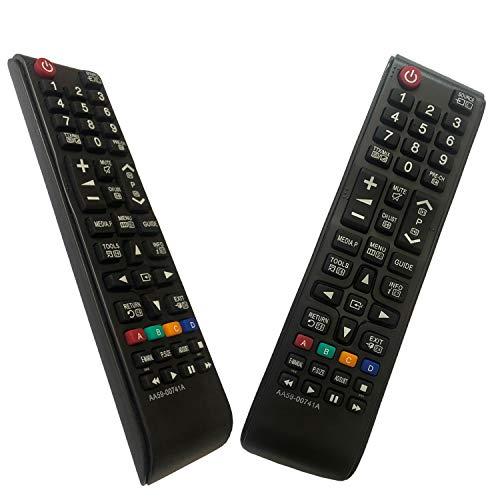 iLovely Sostitutivo Telecomando Samsung AA59-00741A per Samsung Universale Smart TV BN59-01175B AA59-00818A AA59-00603A BN59-01199G AA59-00622A AA59-00496A AA59-01180A BN59-01268D AA59-00666A