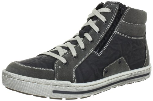 Rieker Herren 38034 Sneakers, Grau (dust/granit/42), 42 EU