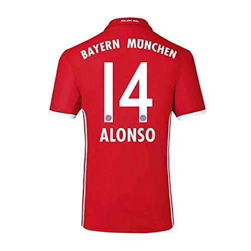 2016-17 Bayern Home Shirt (Alonso 14) - Kids