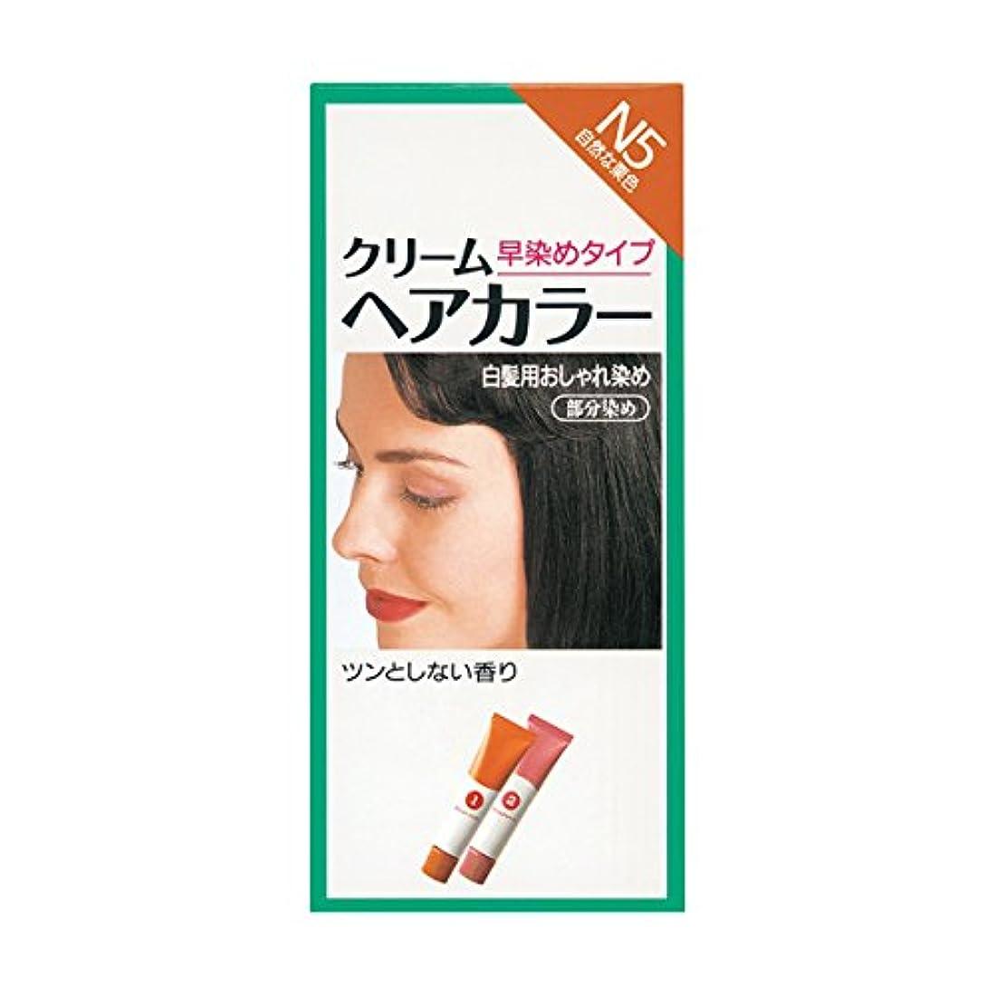 アトミック物理服を片付けるヘアカラー クリームヘアカラーN N5 【医薬部外品】