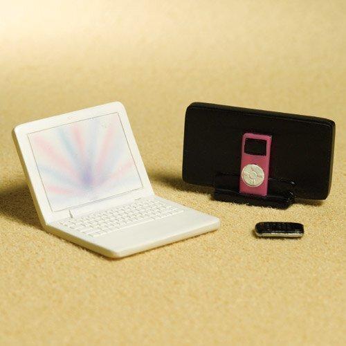 The Dolls House Emporium Laptop, MP3 & Portable, 3-parts (Plastique)