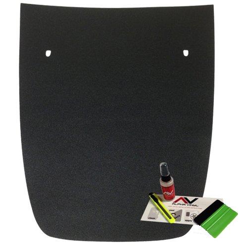 AlphaVinyl Hard Plastic Professional Grade applicator Vinyl Sticker Tint Felt Squeegee