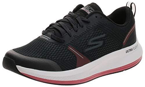 Skechers mens Go Run Pulse - Performance Running and Walking Shoe Sneaker, Black, 10.5 US