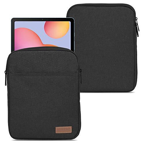 NAUC Sleeve Hülle Tasche kompatibel für Samsung Galaxy Tab S7 11 Zoll Tablet Hülle Schutzhülle Grau Schwarz Hülle Notebook Cover, Farben:Schwarz