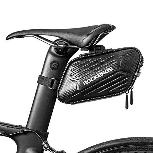 ROCKBROS Fahhrrad Satteltasche Fahrradsitz Tasche für MTB Rennrad Faltrad Wasserdicht Kratzfest ca.1,5L